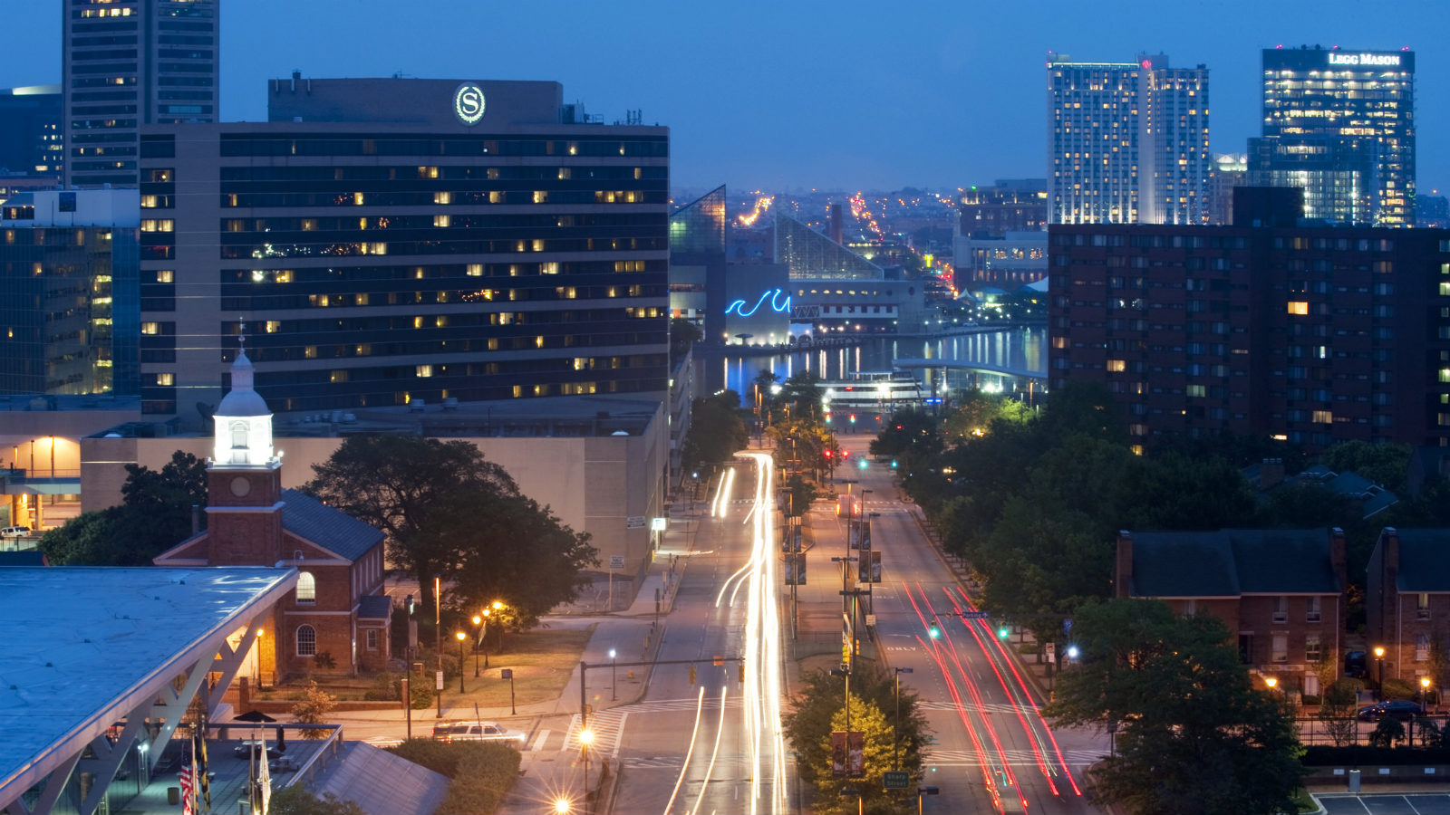 Baltimore Meeting - Baltimore at Night