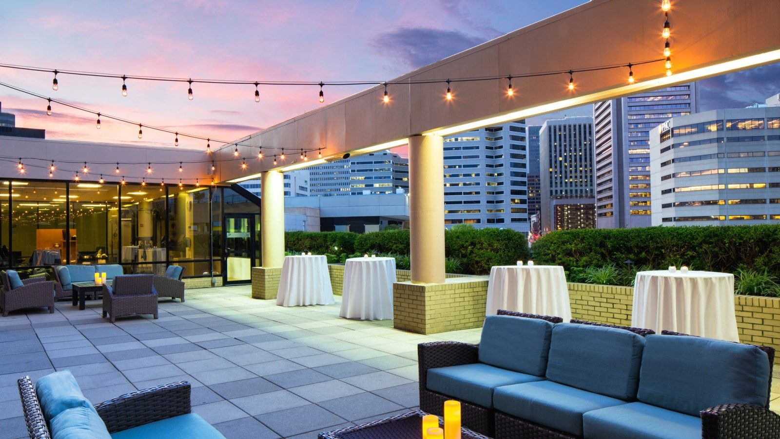 Baltimore wedding venues sheraton inner harbor hotel baltimore wedding outdoor space junglespirit Image collections