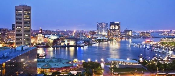 Pet Friendly Hotel In Baltimore Sheraton Inner Harbor Skyline